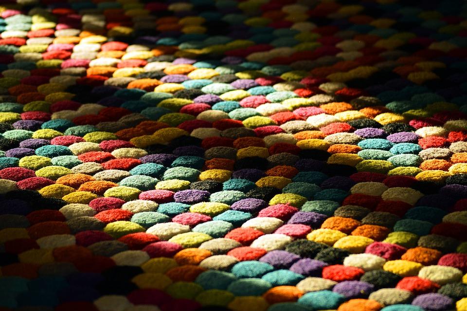Dekorativa alternativ med mattor